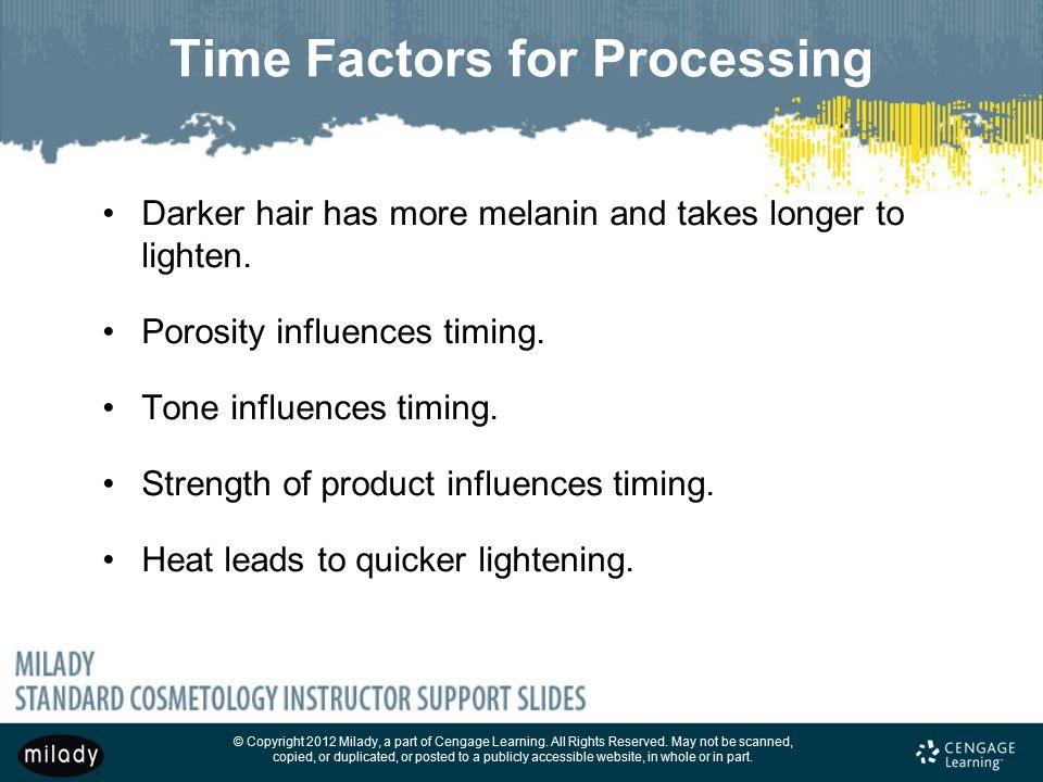 Time Factors for Processing
