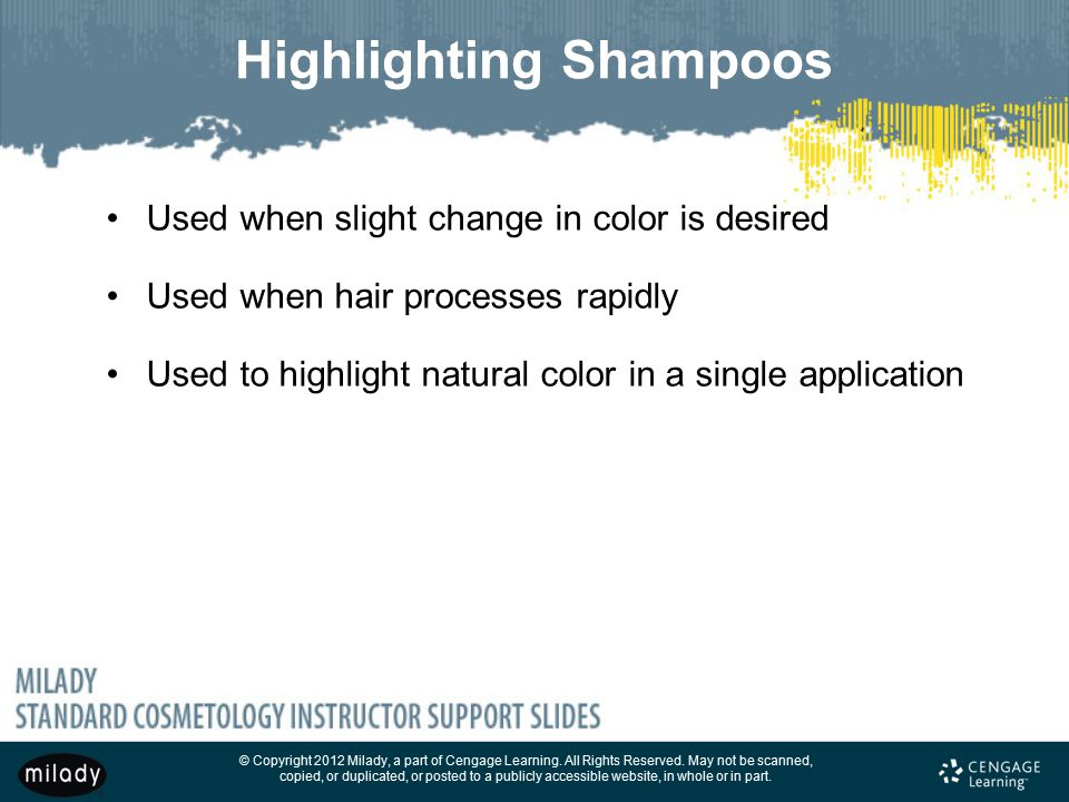Highlighting Shampoos