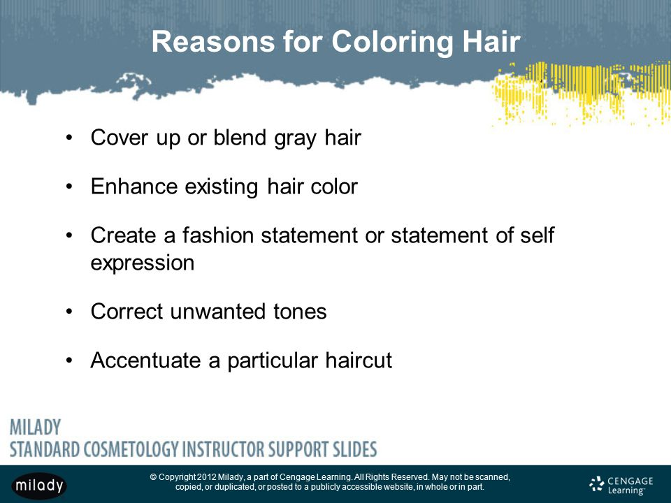 Reasons for Coloring Hair