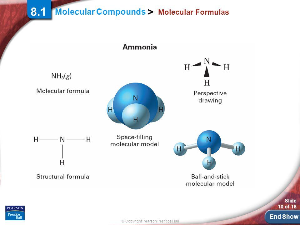 8.1 Molecular Formulas.