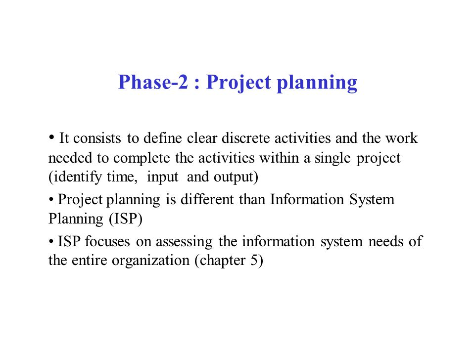 Phase-2 : Project planning