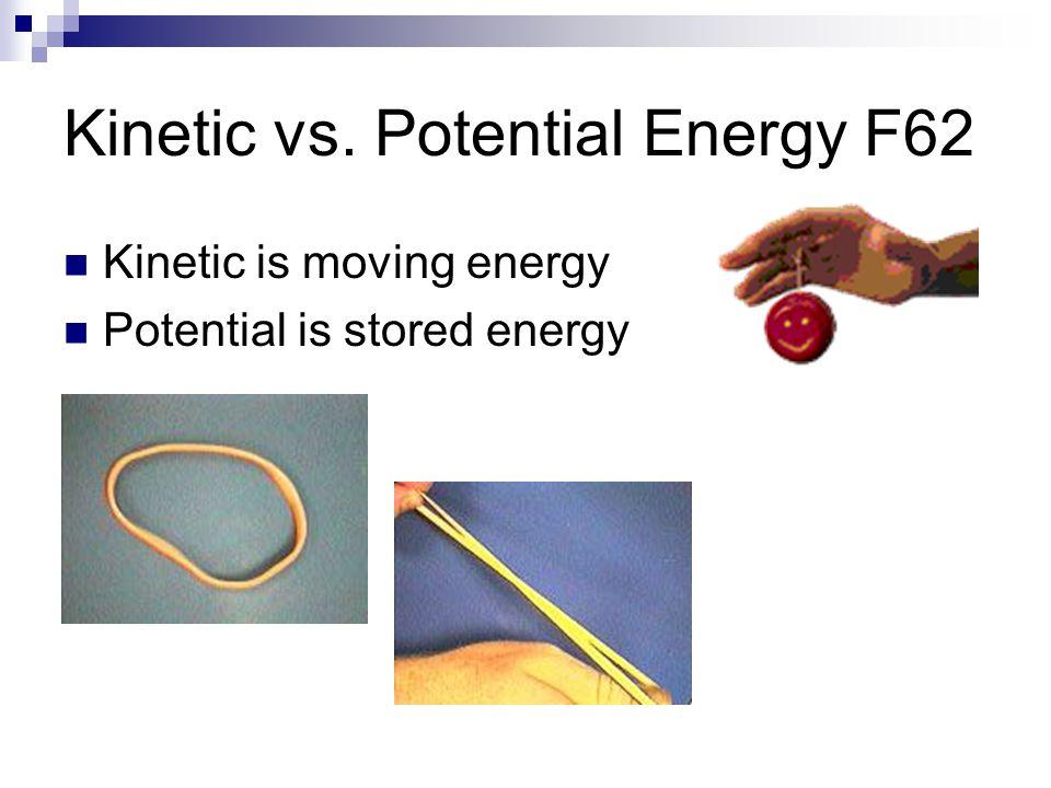 Kinetic vs. Potential Energy F62