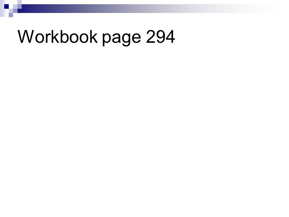 Workbook page 294