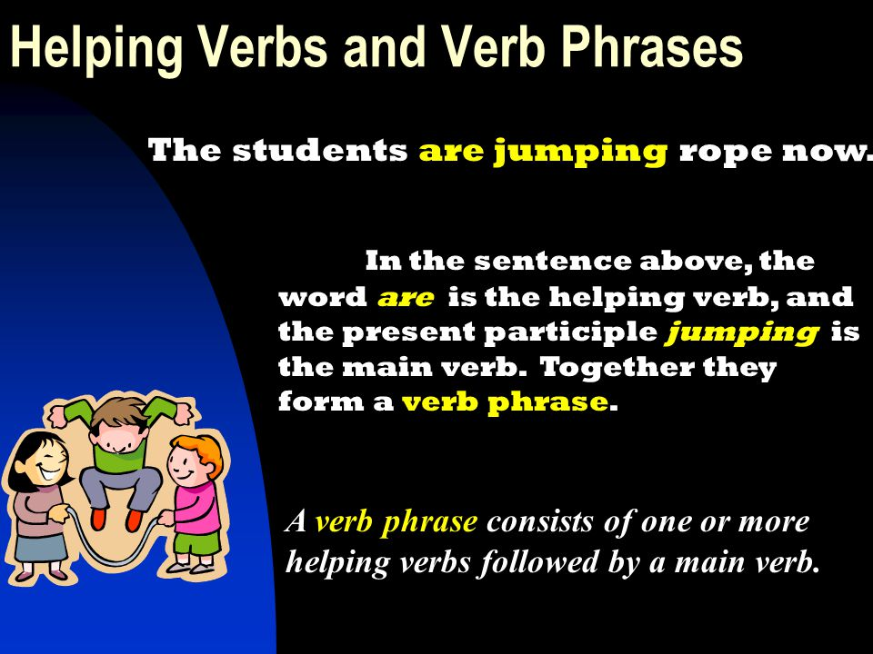 Helping Verbs and Verb Phrases