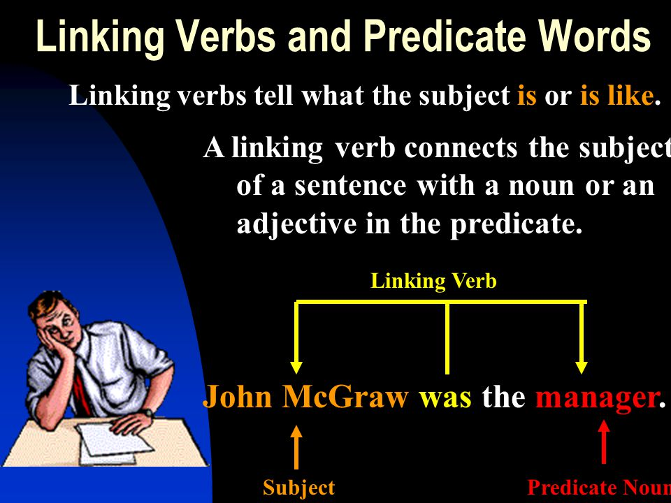 Linking Verbs and Predicate Words