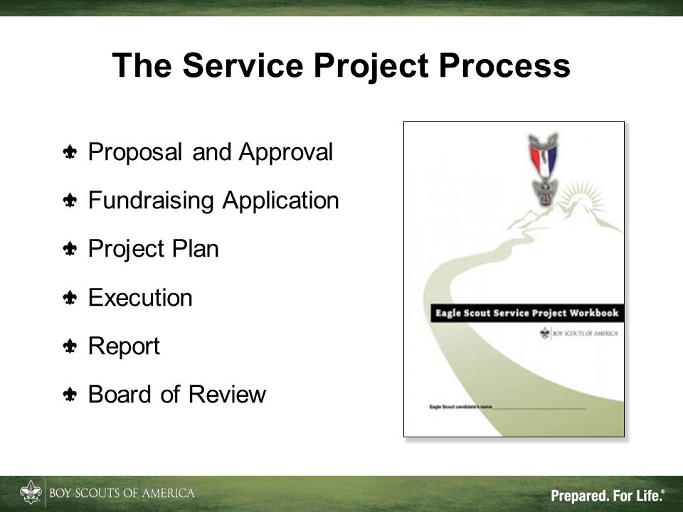 The Service Project Process