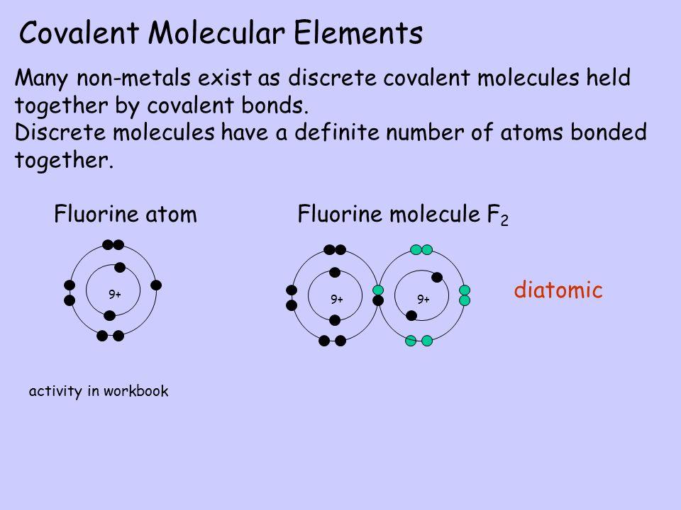 Covalent Molecular Elements