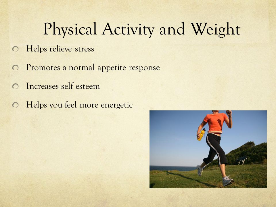 Physical Activity and Weight