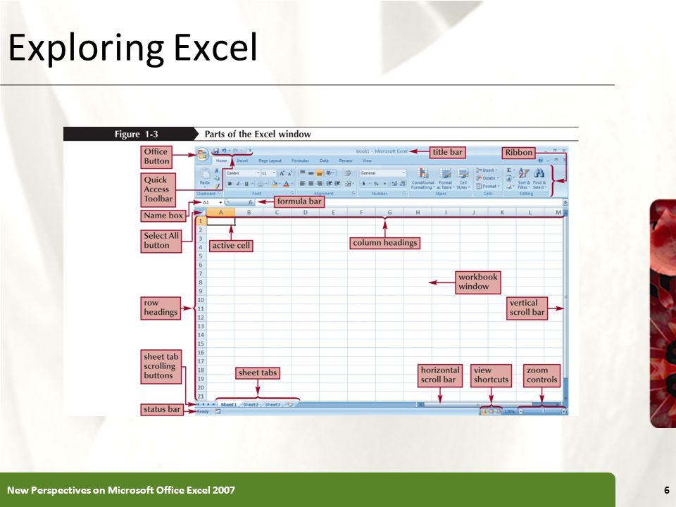 Exploring Excel New Perspectives on Microsoft Office Excel 2007