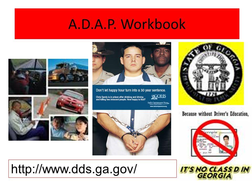 A.D.A.P. Workbook A.D.A.P. Workbook http://www.dds.ga.gov/
