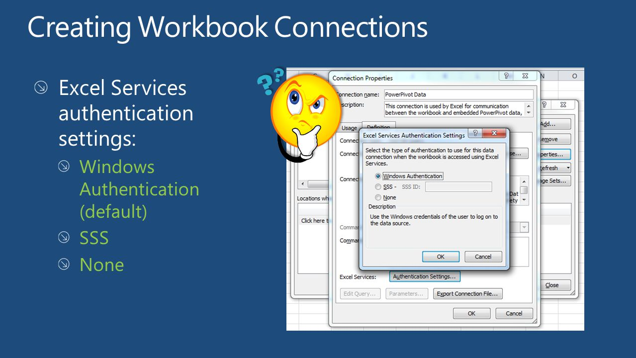 Creating Workbook Connections