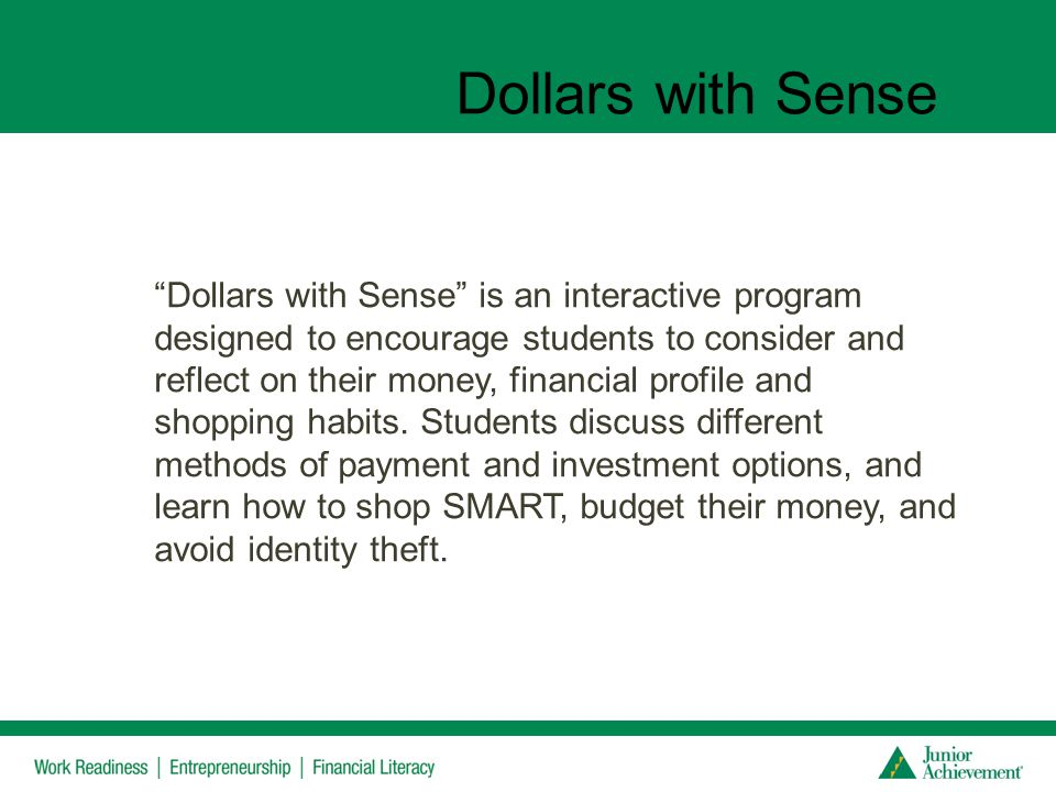 Dollars with Sense