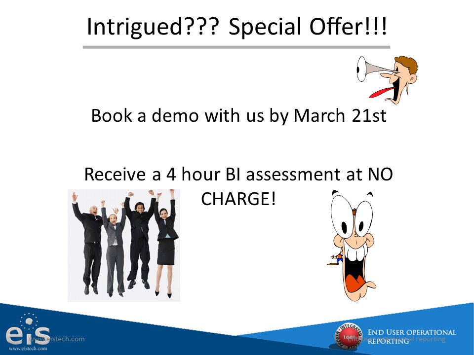 Intrigued Special Offer!!!