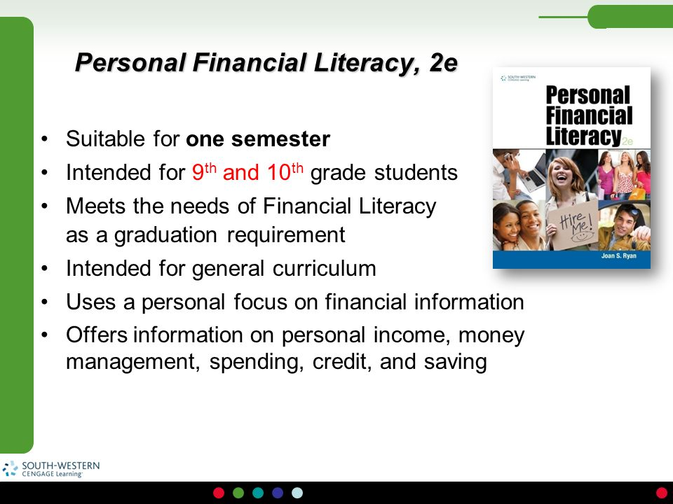 Personal Financial Literacy, 2e