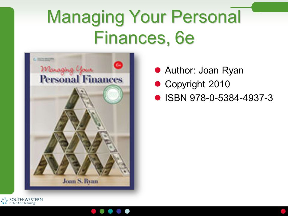 Managing Your Personal Finances, 6e
