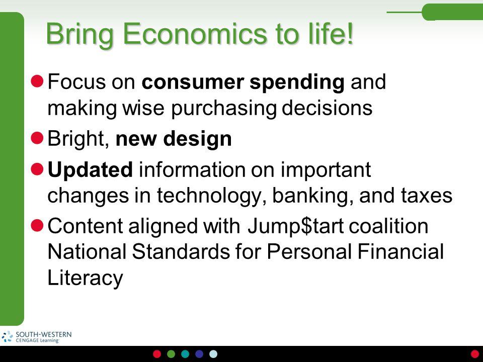 Bring Economics to life!