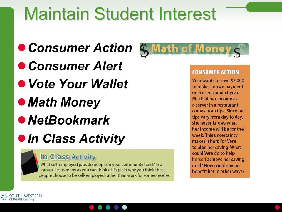 Maintain Student Interest