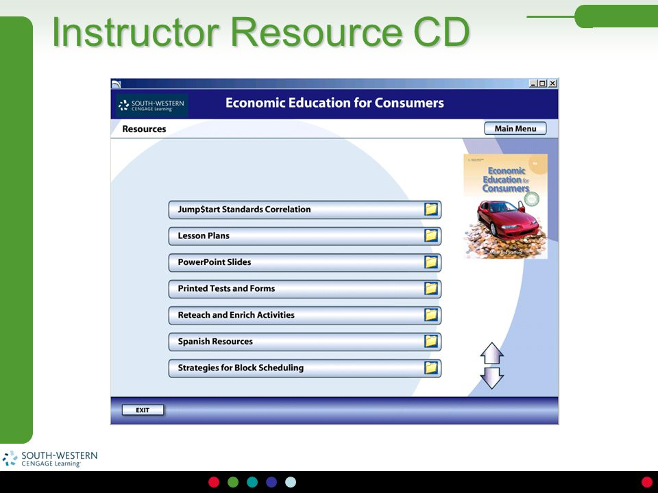Instructor Resource CD