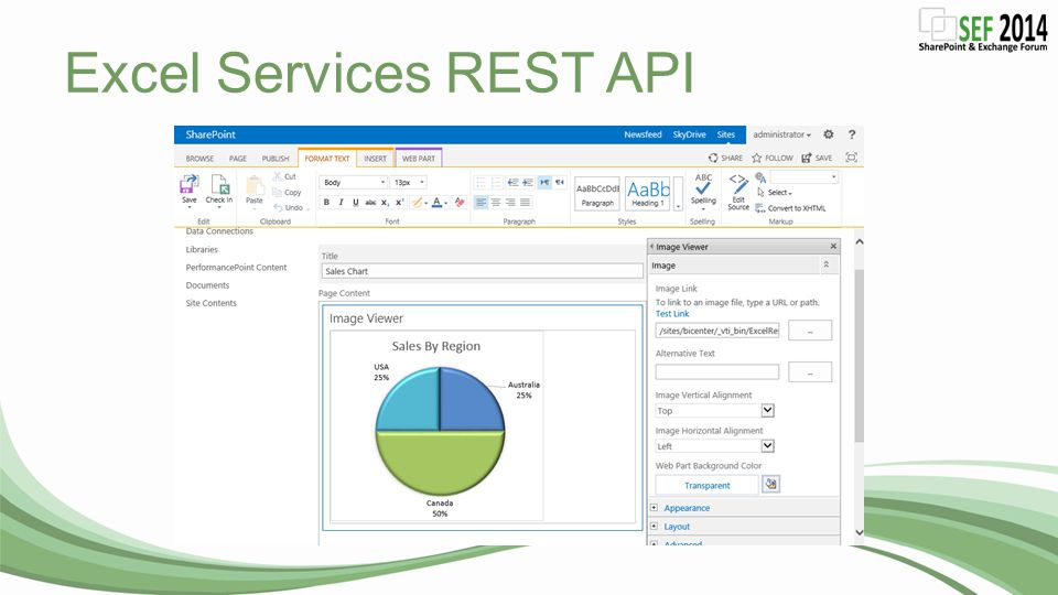 Excel Services REST API