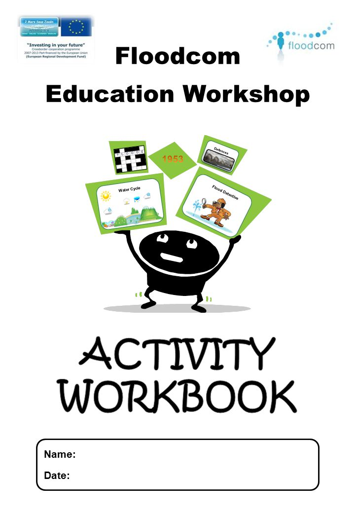 ACTIVITY WORKBOOK Floodcom Education Workshop Name: Date: 1953
