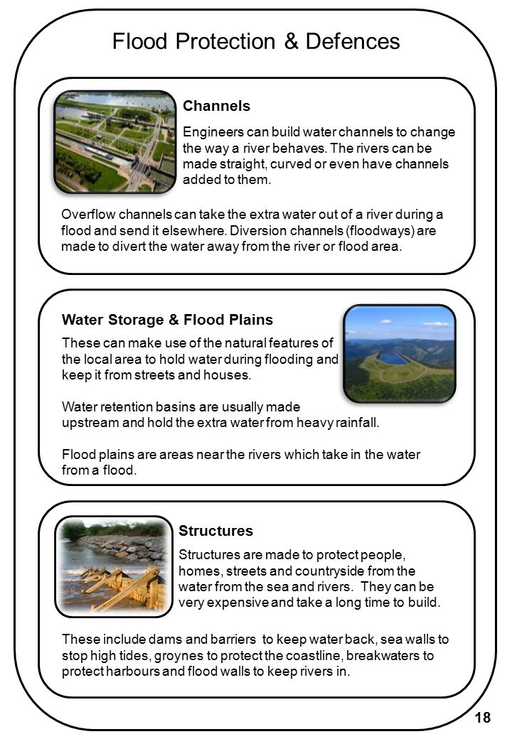 Flood Protection & Defences