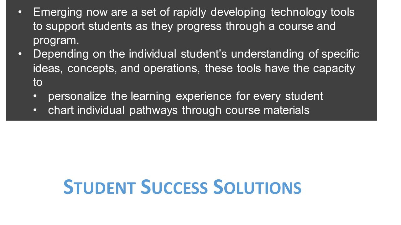 Student Success Solutions