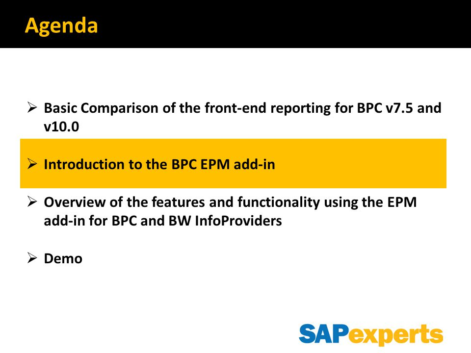 EPM 10.0 Reporting Component