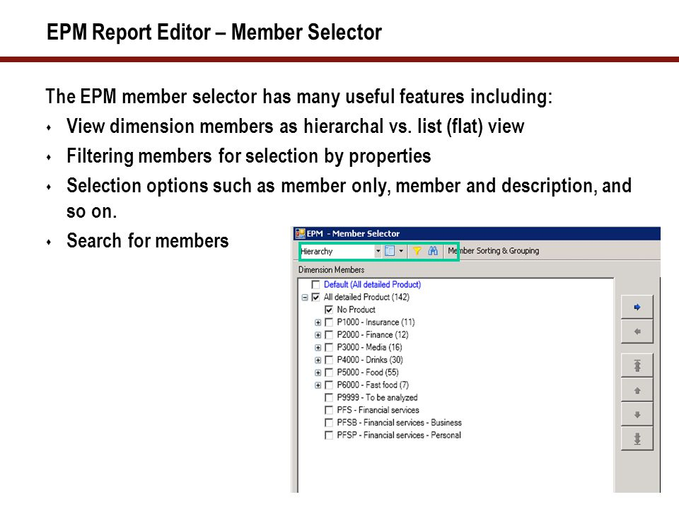 Ranking Ranking function: Define Ranking Initial report Top 10 results