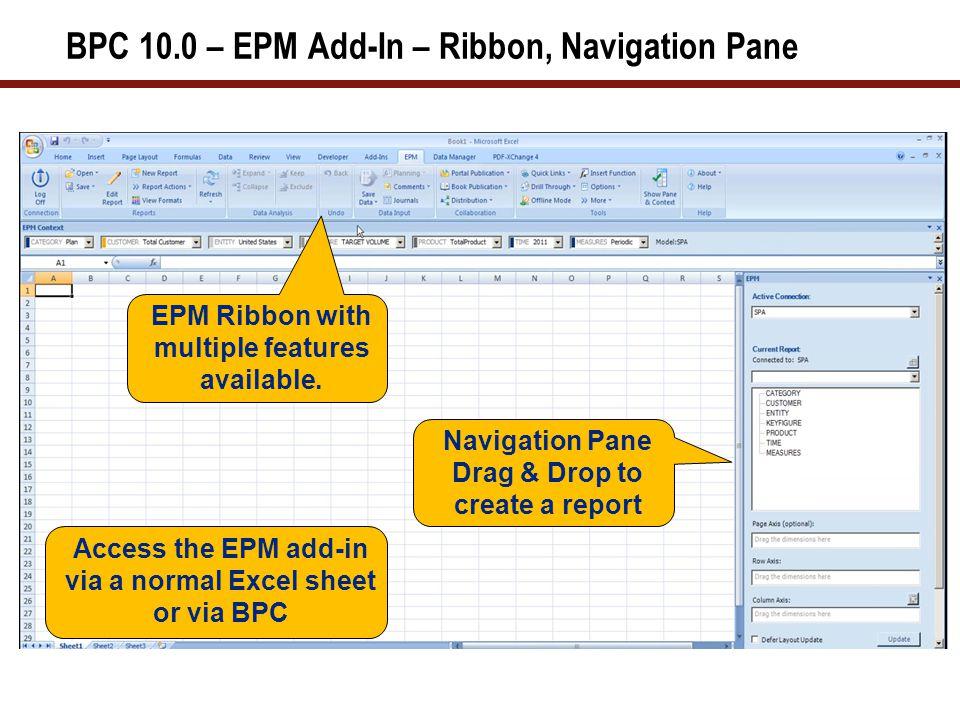 BPC 10.0 - EPM Report Editor (1 of 2)