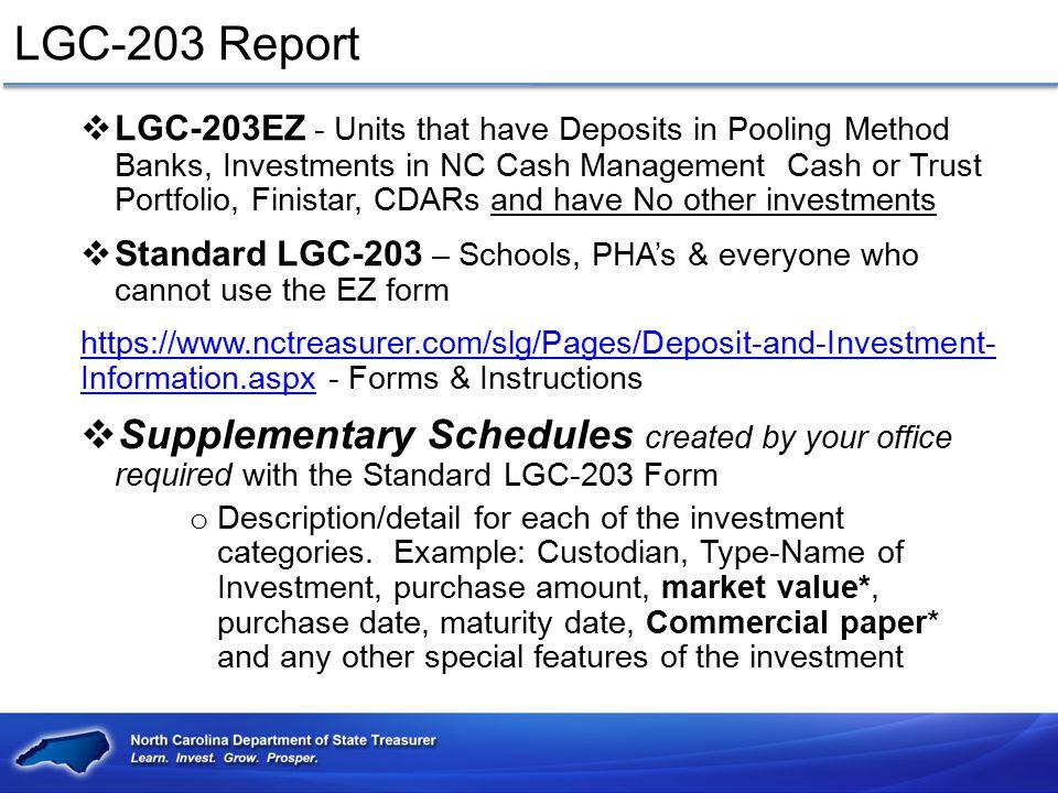 LGC-203 Report