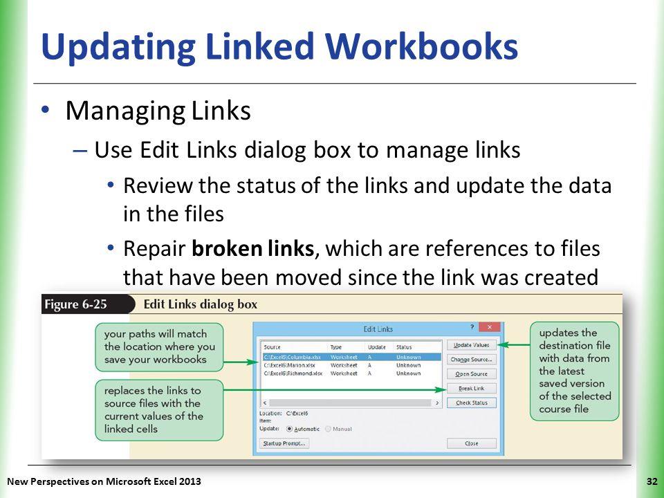 Updating Linked Workbooks