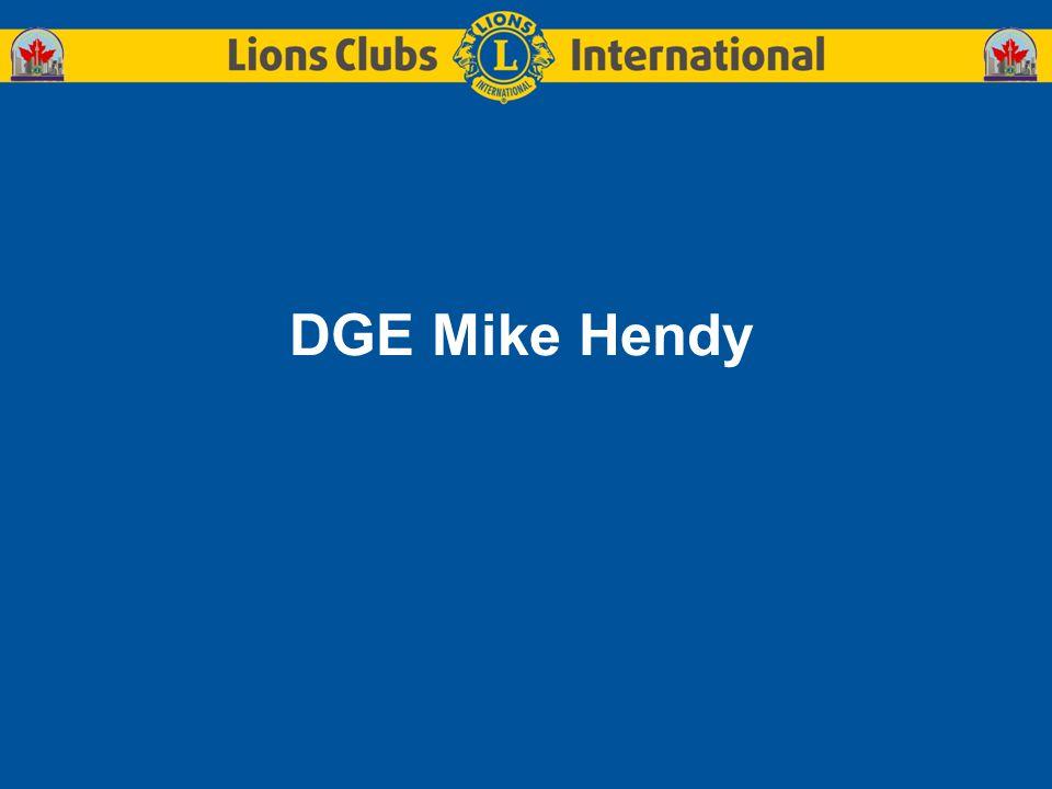 DGE Mike Hendy