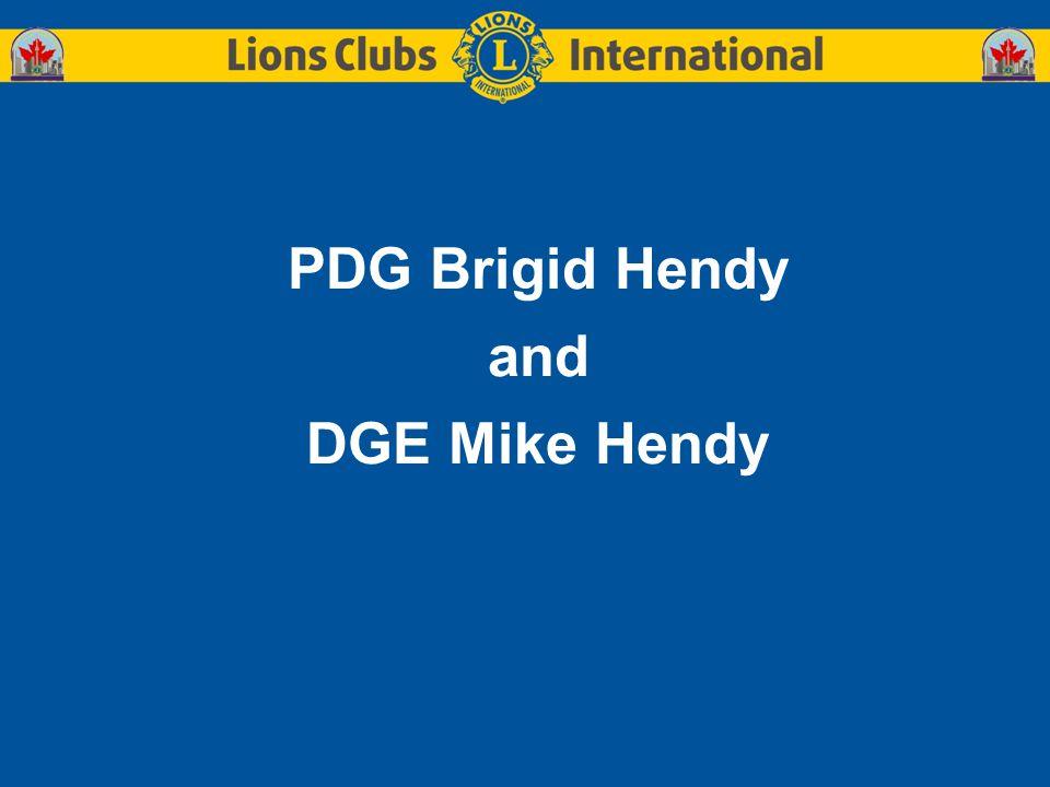 PDG Brigid Hendy and DGE Mike Hendy