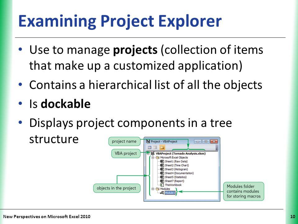 Examining Project Explorer
