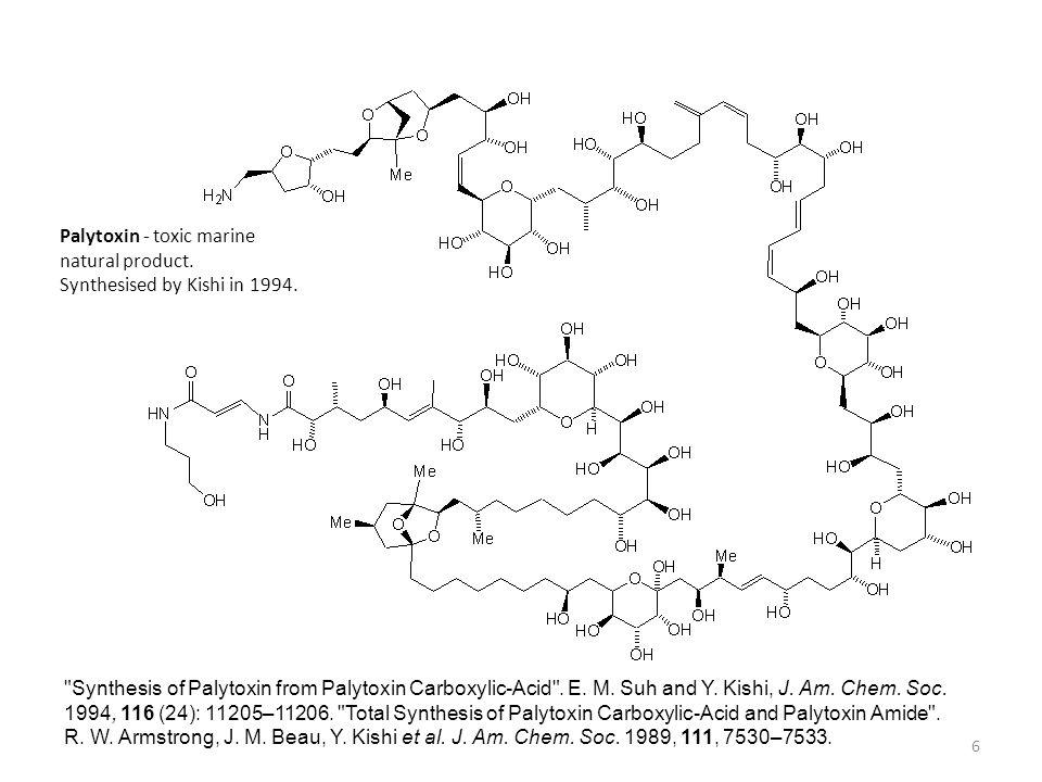 Palytoxin - toxic marine