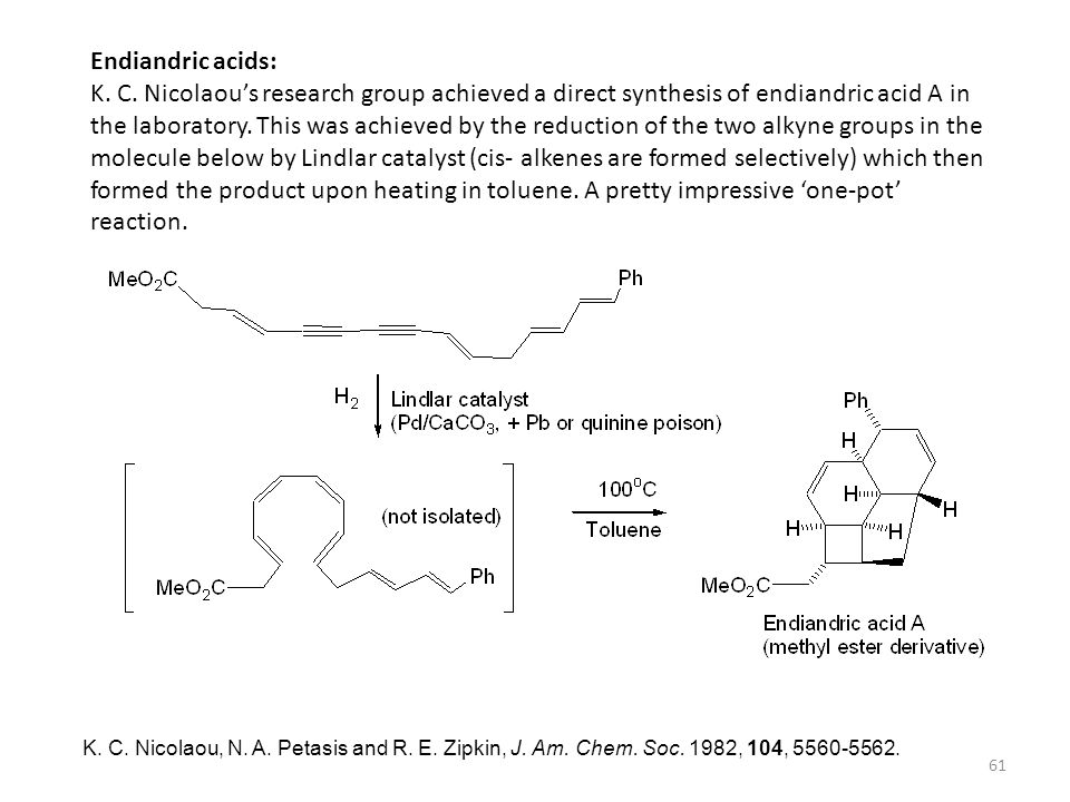 Endiandric acids: