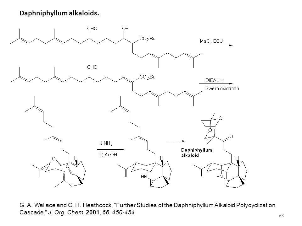Daphniphyllum alkaloids.