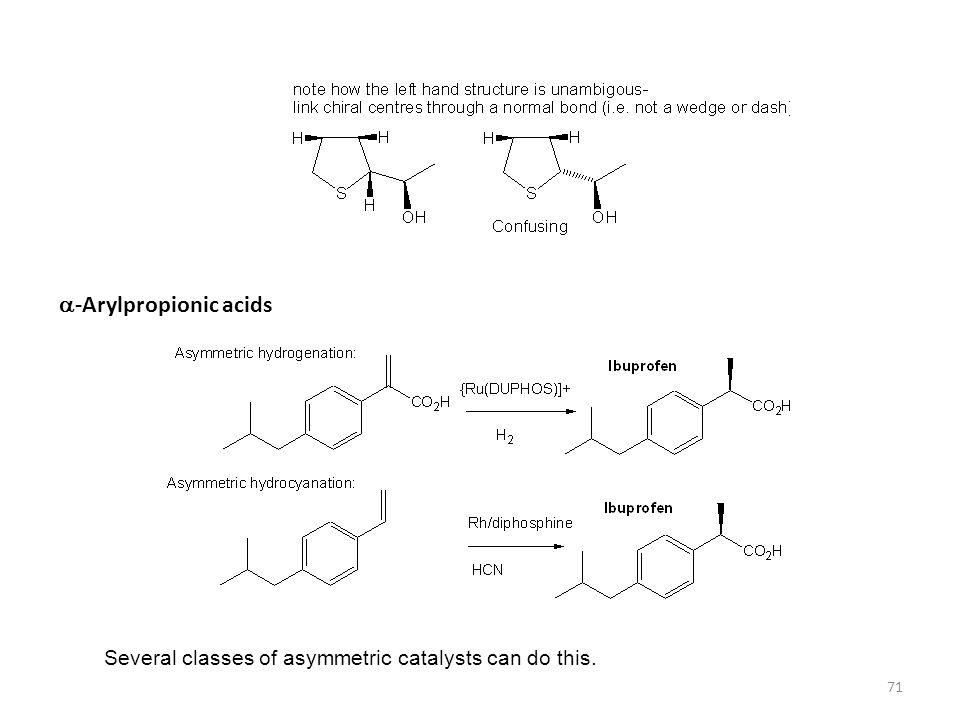 a-Arylpropionic acids