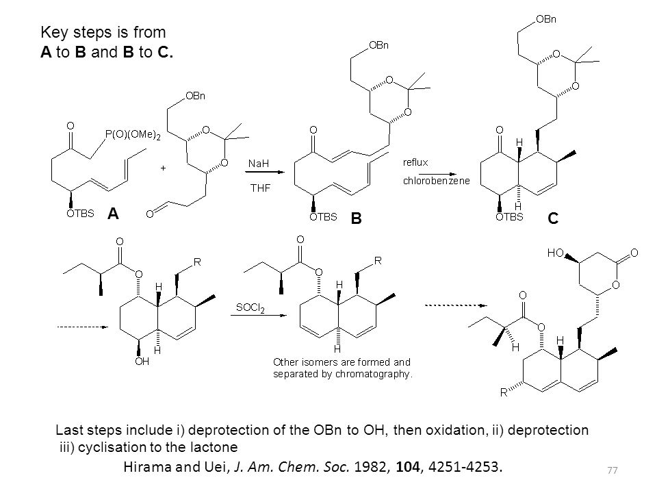 Hirama and Uei, J. Am. Chem. Soc. 1982, 104, 4251-4253.