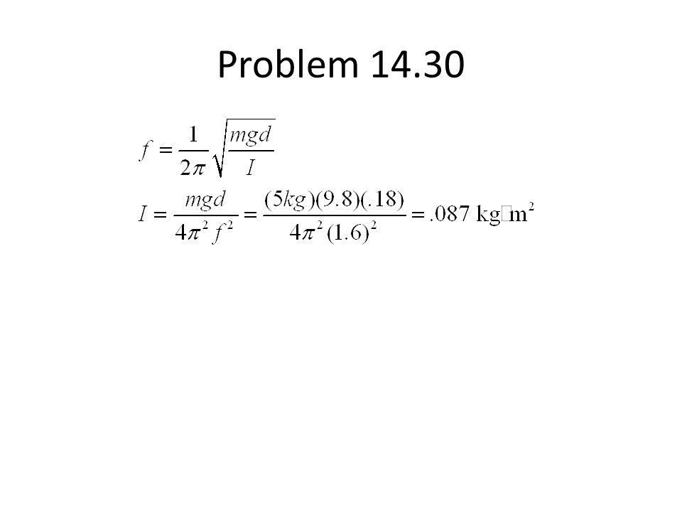 Problem 14.30
