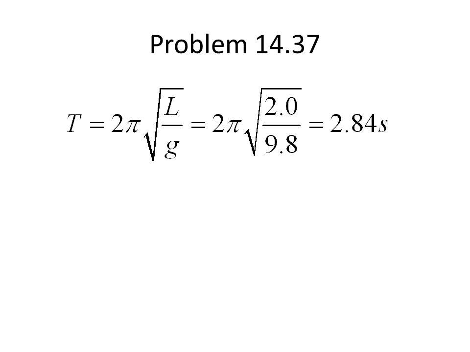 Problem 14.37