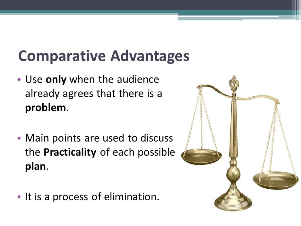 Comparative Advantages