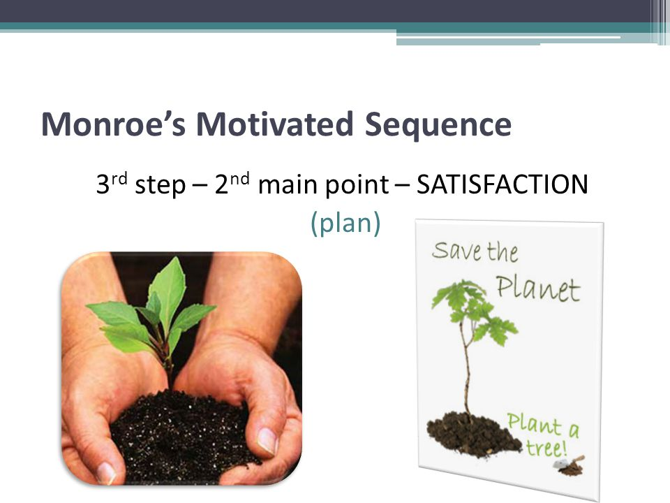 Monroe's Motivated Sequence