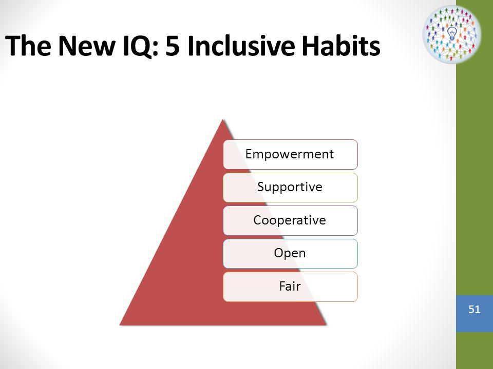 The New IQ: 5 Inclusive Habits