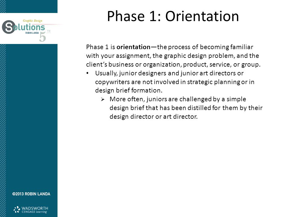 Phase 1: Orientation