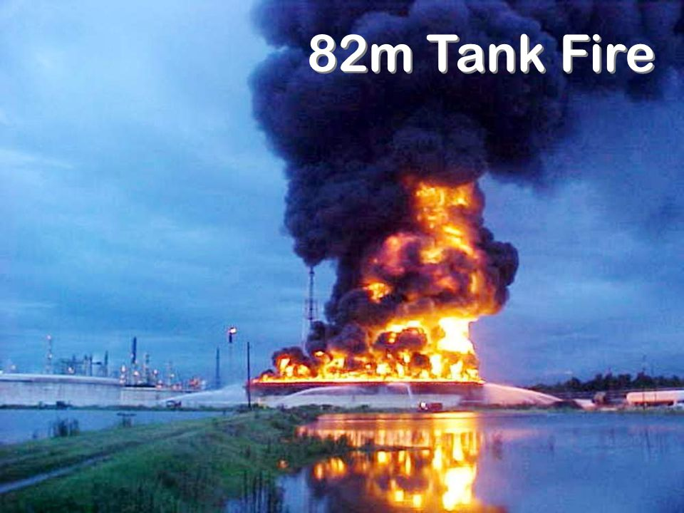 82m Tank Fire