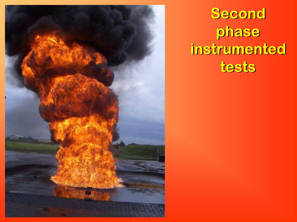 Second phase instrumented tests
