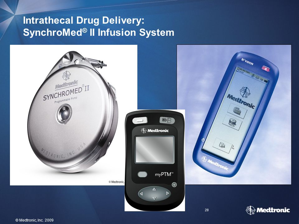 Intrathecal Drug Delivery: SynchroMed® II Infusion System