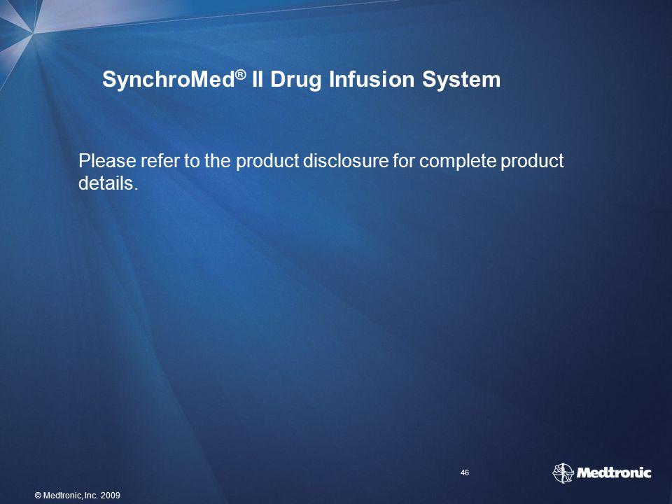 SynchroMed® II Drug Infusion System