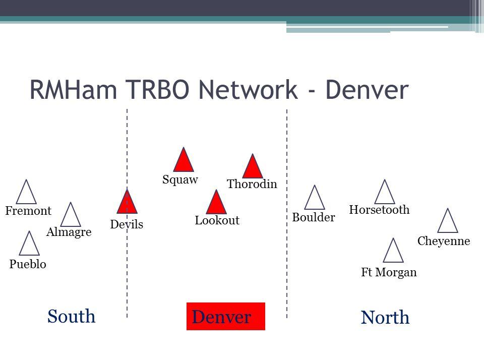 RMHam TRBO Network - Denver
